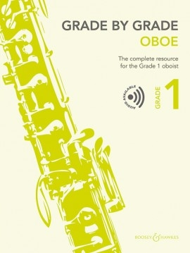 Grade By Grade Oboe: Grade 1: Book & Cd