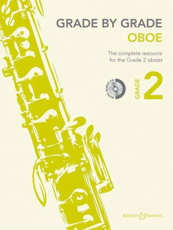 Grade By Grade Oboe: Grade 2: Book & Cd