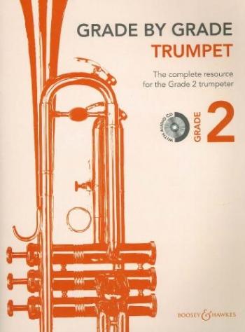 Grade By Grade Trumpet: Grade 2: Book & Cd