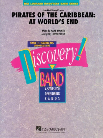Discovery Band: Pirates Of The Carribean: Concert Band Score & Parts