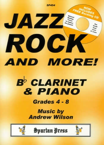 Jazz Rock And More: Clarinet: Book & Cd (Wilson)
