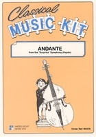 Classical Music Kit: Haydn Andante From Surprise Symphony Score And Parts
