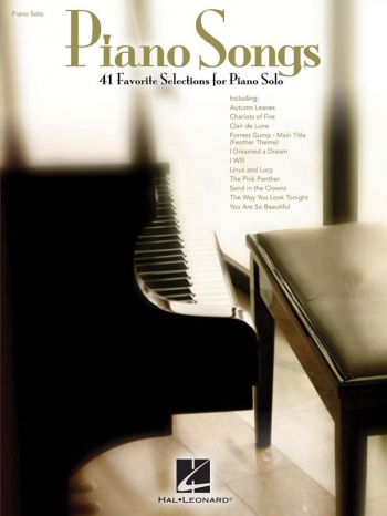 Piano Song: 41 Favorite Selections For Piano Solo