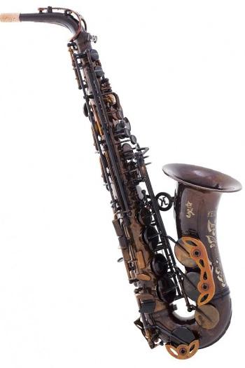 Keilwerth MKX Alto Saxophone In Antique Brass Finish