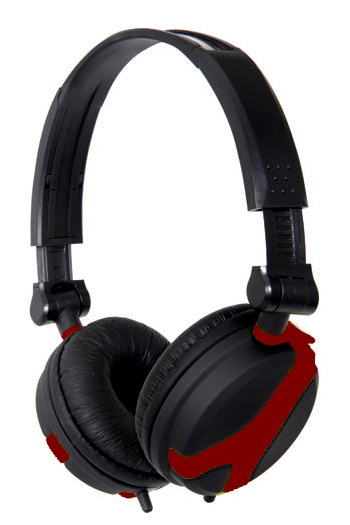 Stereo Headphones QX40 Red: QTX Sound