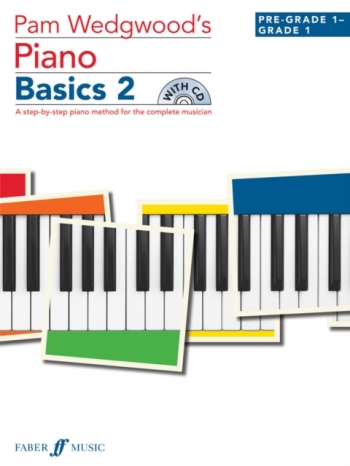 Pam Wedgwood's Piano Basics 2  Book & CD