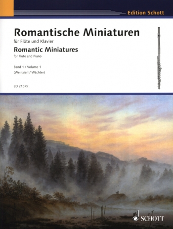 Romantic Miniatures Vol.1 : Flute & Piano (Schott)