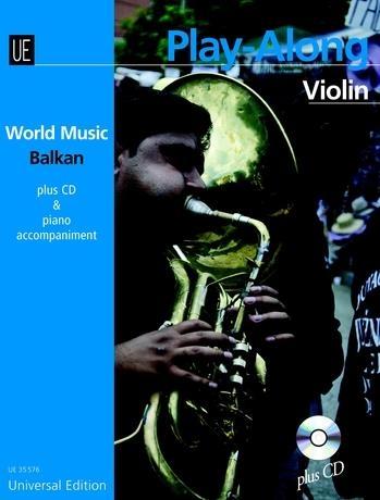 World Music Balkan: Play Along: Violin: Bk&cd