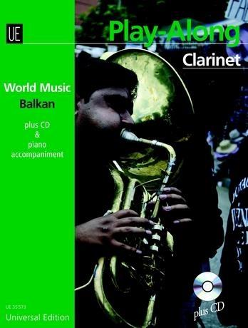 World Music Balkan: Play Along: Alto Or Tenor Saxophone: Bk&cd