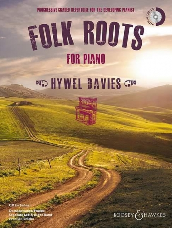 Folk Roots For Piano: Book & Cd