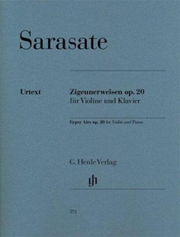 Zigeunerweisen: Op20: Violin And Piano (Henle)