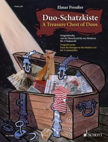 A Treasure Chest Of Duos: Cello Duet A Treasure Chest Of Duos: Cello Duet (Preusser)