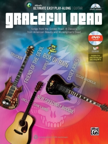 Ultimate Easy Play-Along Guitar: Grateful Dead: Bk&cd