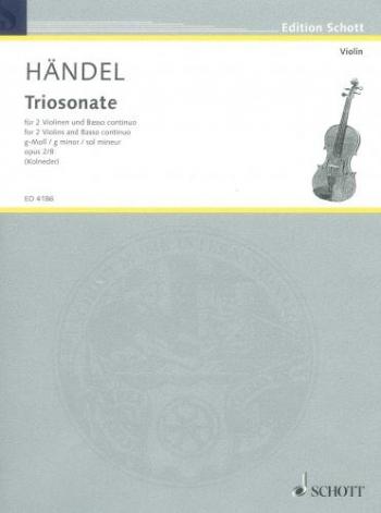 Sonata: Op2 No8: Violin & Basso Continuo