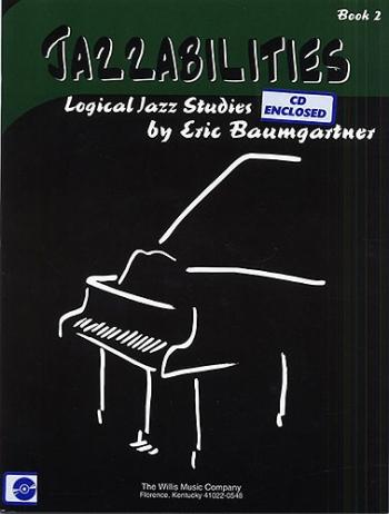 Jazzabilities Book 2 Piano  Book & CD (Eric Baumgartner)