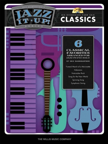 Jazz It Up! Classics Book & CD (Eric Baumgartner)
