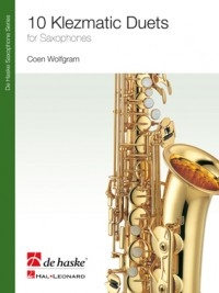 Klezmatic Duets For Saxophones Duet (Wolfgram)