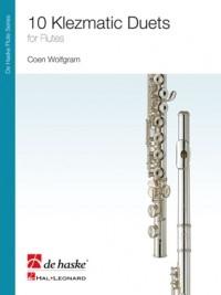 Klezmatic Duets For Flute Duet (Wolfgram)
