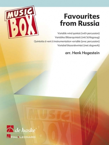 Favourites From Russia: Variable Wind Quintet Music Box (Hogestein)