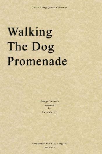 Walking The Dog: String Quartet: Score