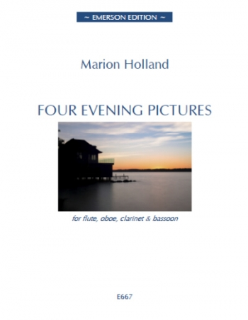 Four Evening Pictures: Flute/Oboe/Clarinet & Bassoon