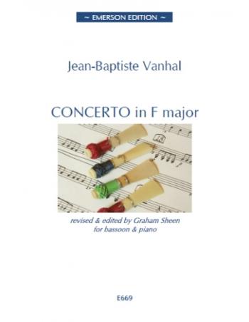 Concerto: F Major: Bassoon & Piano (Sheen)
