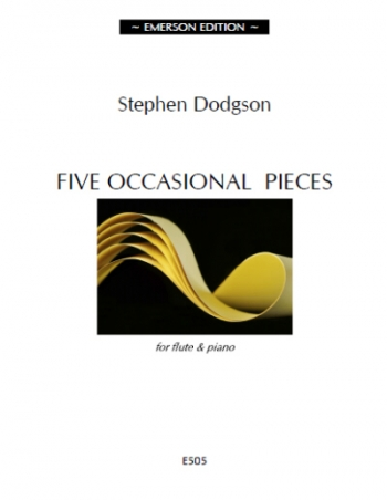 Five Occasional Pieces: Flute & Piano