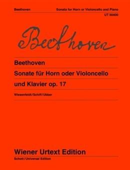 Cello/Horn & Piano Sonata OP.17 (Wiener Urtext)