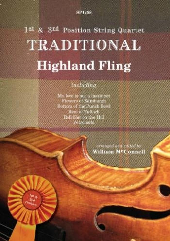 1st & 3rd Position String Quartet: Traditional Highland Fling