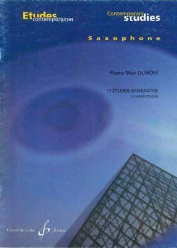 17 Etudes Dansantes: Saxophone: Studies (Billaudot)