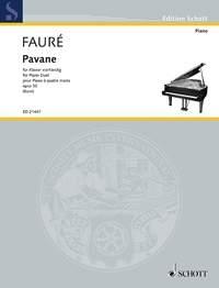 Pavane Op50: Piano Duet (4 Hands) (Schott)