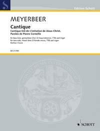 Cantique Tiré De L'imitation De Jésus-Christ, Paroles De Pierre Corneille: Vocal
