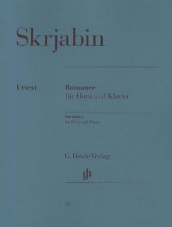 (Skrjabin) Romance For Horn And Piano (Henle)