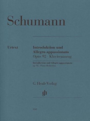 Introduction And Allegro Appassionato, Op. 9: Piano Reduction For 2 Pianos  (Henle)