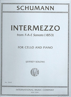 Intermezzo From F-A-E Sonata: Cello & Piano (International)