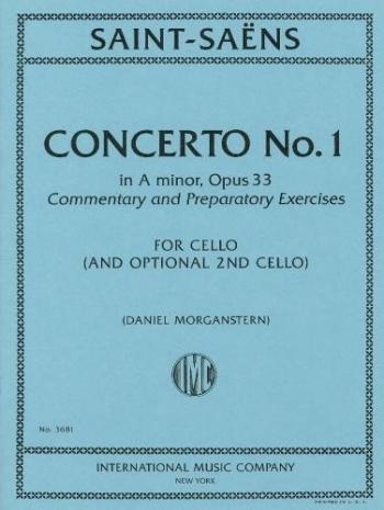 Concerto No.1 In A Minor, Op.33: Cello & Piano (International)