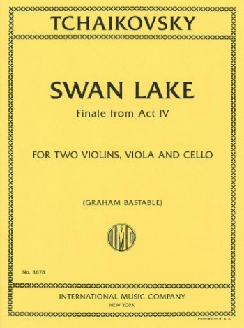Finale From Act IV Swan Lake: Score & Parts 2 Violin Viola & Cello