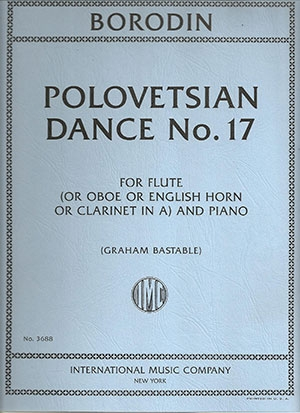Polovtsian Dances Flute ( Or Oboe English Horn Clarinet In A) & Piano