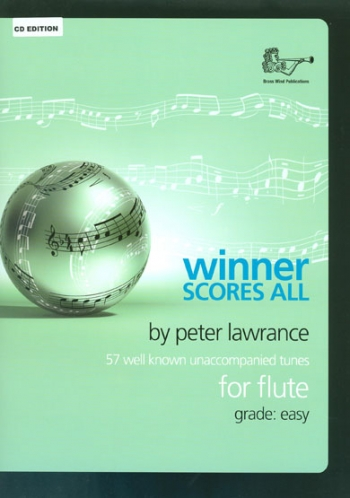 Winner Scores All Flute Book & CD (Lawrance)