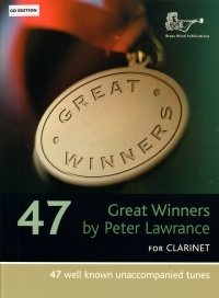 Great Winners For Clarinet: Clarinet Part Book & CD (Lawrance)