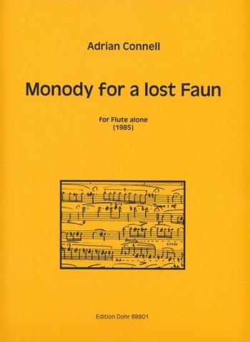 Monody For A Lost Faun: Flute Solo