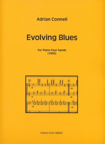 Evolving Blues: Piano Four Hands
