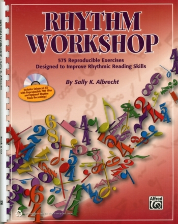 Rhythm Workshop: Exercises To Improve Rhythmic Reading Skills: Book & Cd