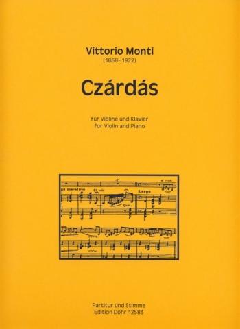 Csardas: Violin And Piano (Dohr)