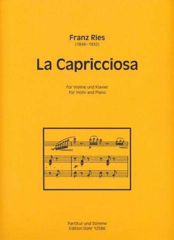 La Capricciosa: Violin & Piano (Dohr)
