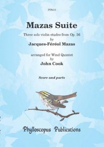 Suite: Op36: Wind Quintet: Score And Parts