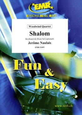 Shalom: Woodwind Quartet: Score & Parts