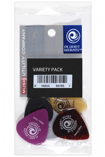 Plectrum Variety Pack By Planet Waves - Medium