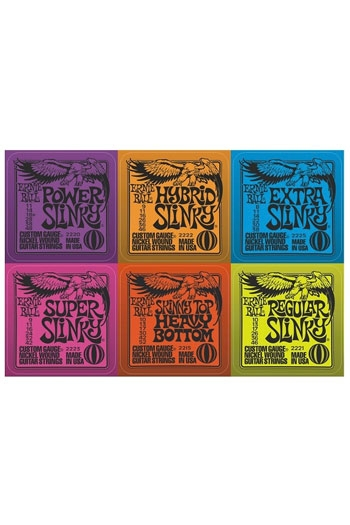 Gift Coasters Ernie Ball Slinky Coasters (Set Of 6)