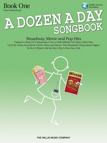 A Dozen A Day Songbook Book 1: Broadway, Movie And Pop Hits: Book & Cd